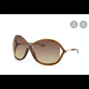 Tom Ford Whitney sunglasses light brown BRAND NEW